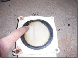 broken valve seal