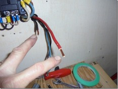 larger wires needed extensions soldered