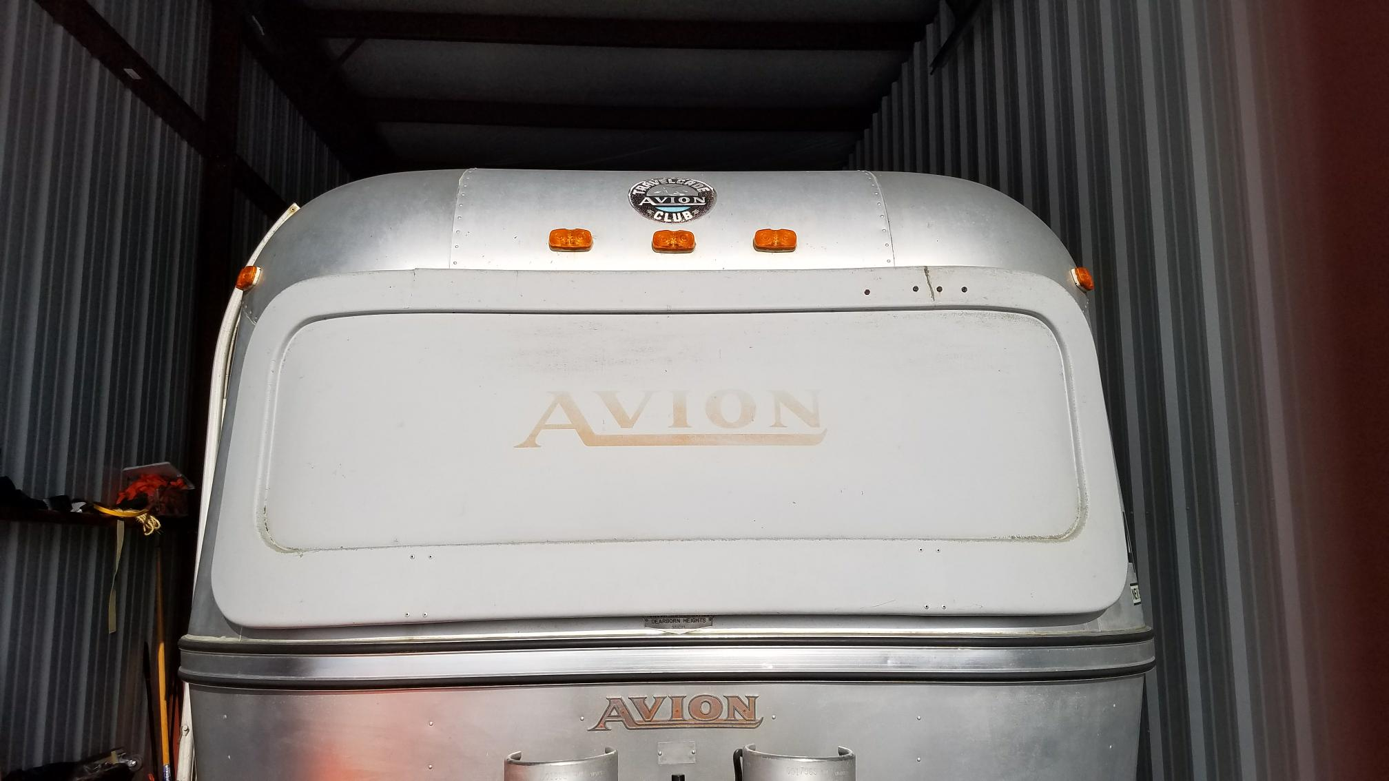 our 73 Avion nose, breadloaf style