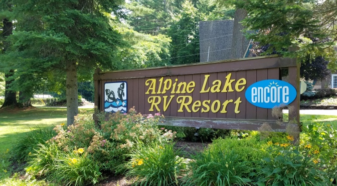 Campground Review: Alpine Lake RV Resort-Corinth, NY