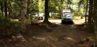 lk E-typical campsite with car, pop up