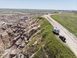 badlands RV dispersed camping