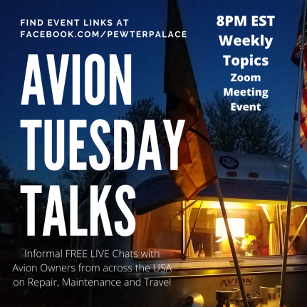 Avion Tuesday Talks 8 PM